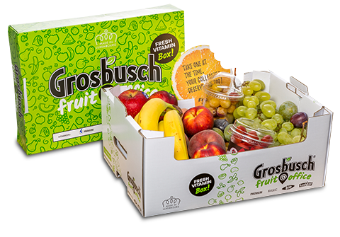 Fruit@Office - Fruits & Légumes - Box Premium
